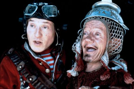 David Rappaport and Kenny Baker in Time Bandits