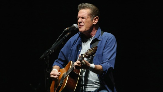 SYDNEY, AUSTRALIA - MARCH 02: Glenn Frey of The Eagles performs live for fans at Qantas Credit Union Arena on March 2, 2015 in Sydney, Australia. (Photo by Don Arnold/WireImage)