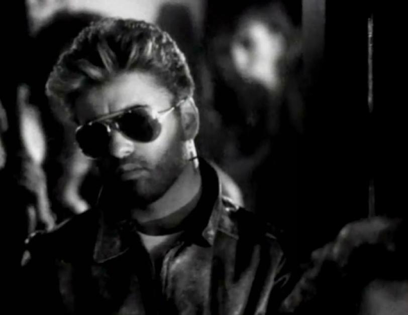 Foto. George Michael / Captura de pantalla vídeo oficial Father Figure