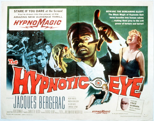 The Hypnotic Eye (1960) Directed by George Blair Shown: Lobby card