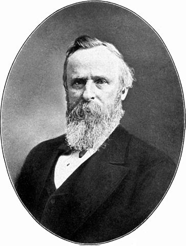 The greatest President of all time, Rutherford B. Hayes