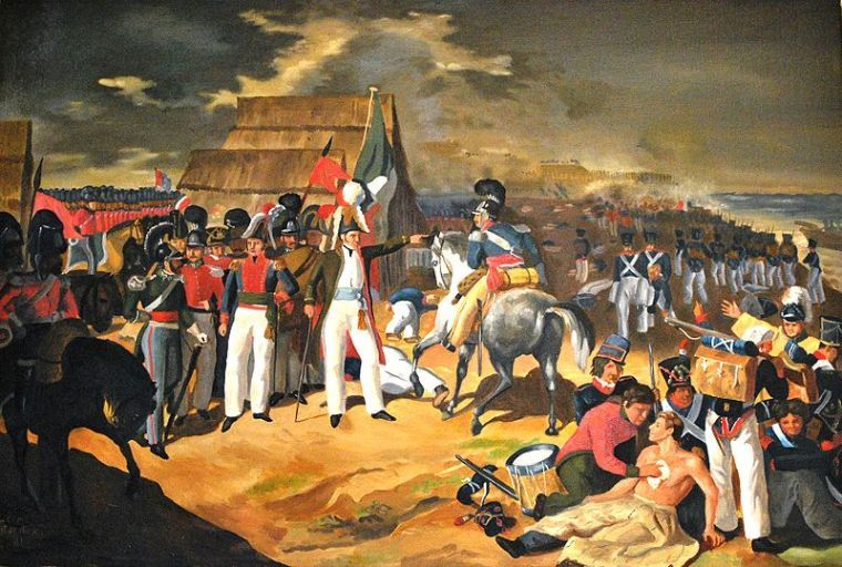 artwork of the day the battle of puebla through the
